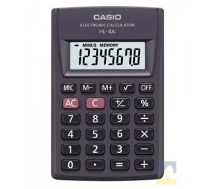 CALCULADORA CASIO HL-4A  8 DIGITOS