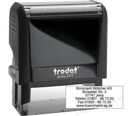 TRODAT 4913 58X22 MM DE TEXTO