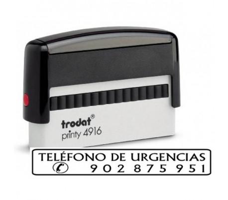 TRODAT 4916 70X10 MM DE TEXTO