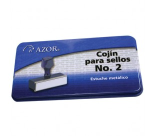 COJIN PLASTICO AZOR P/SELLO NO. 2