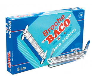 BROCHE BACO 8 CMS CON 50 BROCHES