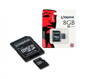MEMORIA MICRO SD KINGSTON  8GB CLASS 4