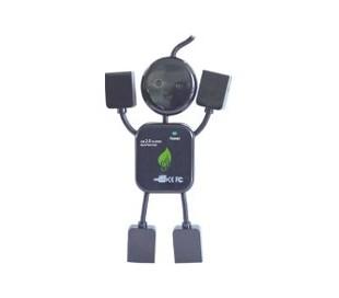 HUB MUÑECO USB CON 4 PUERTOS