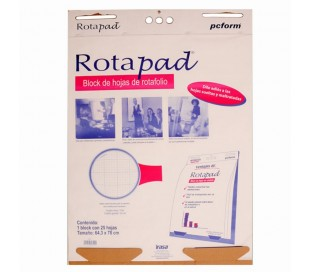 ROTAPAD BLOCK DE HOJAS DE ROTAFOLIO