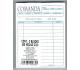 BLOCK DE COMANDAS 1/4  CARTA CON 50 HJS