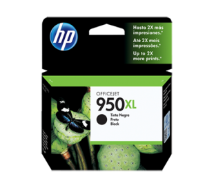 CARTUCHO HP 950 XL ORIGINAL NEGRO