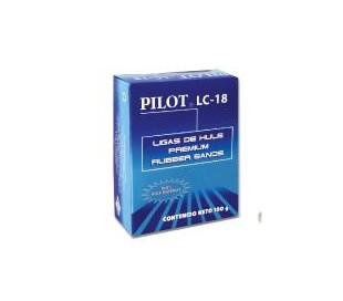 LIGAS DE HULE PILOT PREMIUM RUBBER BANDS LC-18