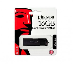 MEMORIA KINGSTON 16GB DATA TRAVELER 104