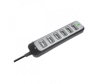 HUB USB GREEN LEAF 7 PUERTOS 18-3532