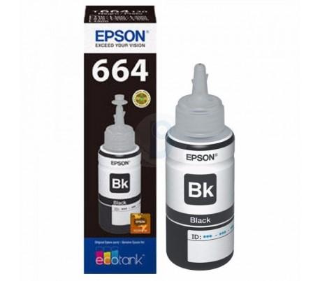 Botella de tinta EPSON 664 NEGRO, CYAN, MAGENTA Y AMARILLO