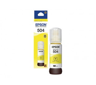 BOTELLA DE TINTA EPSON 504 AMARILLO T504420-AL