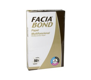 PAPEL FACIA BOND OFICIO 500 HJS BLANCO