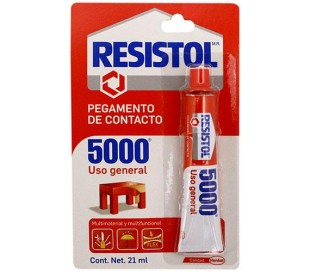 RESISTOL 5000 TUBO DE 21 ml.