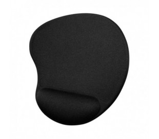 MOUSE PAD CON SOPORTE DE GEL M205 COLOR NEGRO