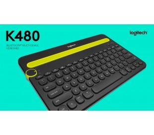 TECLADO LOGITECH K480 NEGRO  P/CELULAR - TABLET