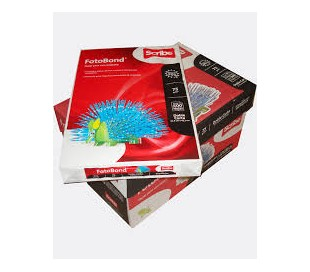 PAPEL FOTOBOND DOBLE CARTA CON 500 HJS BLANCO